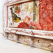 """Для дома и интерьера ручной работы. Ярмарка Мастеров - ручная работа Вешалка-ключница """"Птица Счастья"""". Handmade."""
