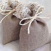 """Для дома и интерьера ручной работы. Ярмарка Мастеров - ручная работа """"Natural"""", ароматический мешочек саше. Handmade."""