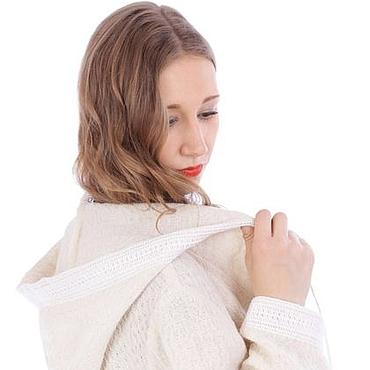 Одежда ручной работы. Ярмарка Мастеров - ручная работа Пальто из натурального льна 2. Handmade.