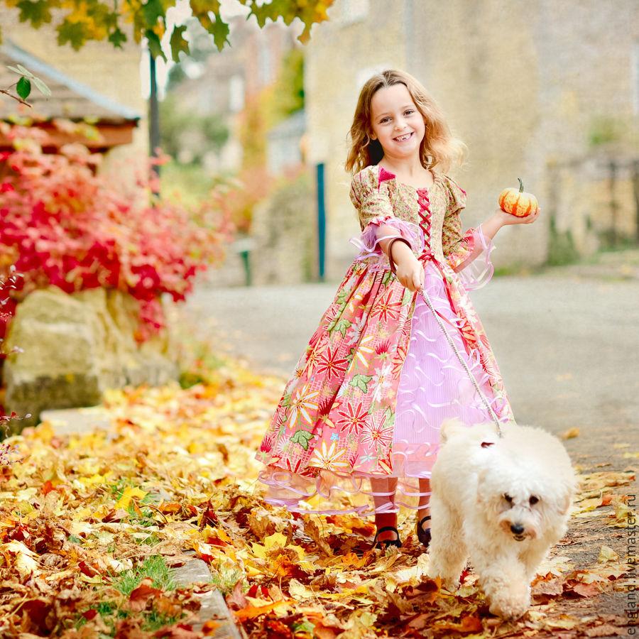 Фотосессия платье принцессы