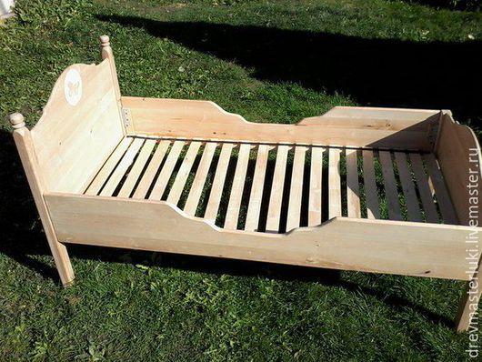 Детская ручной работы. Ярмарка Мастеров - ручная работа. Купить детская кроватка из массива. Handmade. Детская эко мебель