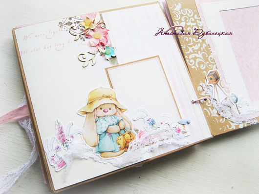 Детский фотоальбом для девочки Мимими