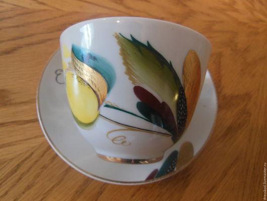 Винтажная посуда. Ярмарка Мастеров - ручная работа. Купить Фарфор ЛФЗ антикварная. Handmade. Фарфор, фарфоровый подарок, чашка