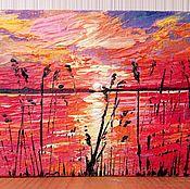 Картины и панно handmade. Livemaster - original item Author`s miniature oil painting