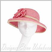 Аксессуары handmade. Livemaster - original item Women`s summer hats made of handmade raffia. Handmade.