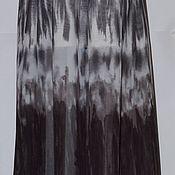Юбки ручной работы. Ярмарка Мастеров - ручная работа Шоколадный фонтан . юбка в складку. Handmade.