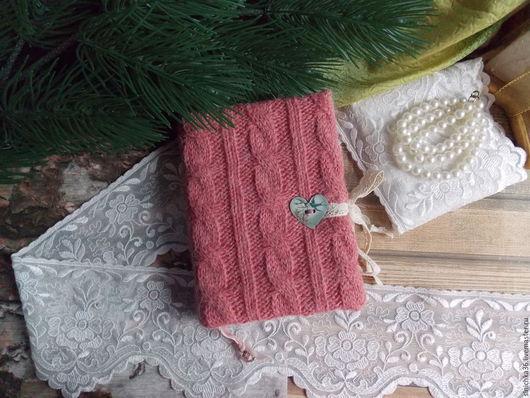 """Блокноты ручной работы. Ярмарка Мастеров - ручная работа. Купить Блокнотик """"Уютный"""". Handmade. Коралловый, блокнот для девушки, подарок, бумага"""