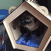 handmade. Livemaster - original item House for cats. Handmade.