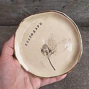 Для дома и интерьера handmade. Livemaster - original item Saucer Thank you. Handmade.