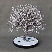 handmade. Livemaster - original item Tree of rock crystal. Handmade.