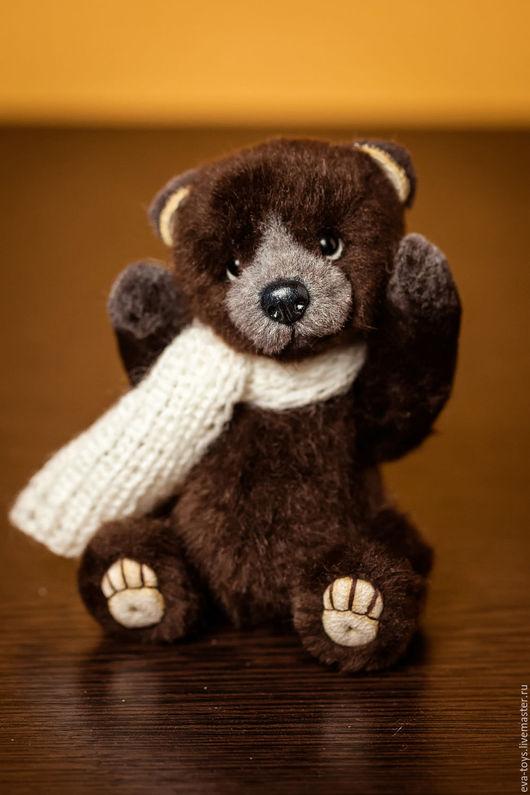 Мишки Тедди ручной работы. Ярмарка Мастеров - ручная работа. Купить Мини мишка Балу. Handmade. Мишка, коричневый, на праздник