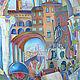 Город ручной работы. Ярмарка Мастеров - ручная работа. Купить Болонья (второй по цвету вариант). Handmade. Бордовый, красители парозакрепляемые