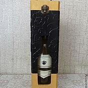 """Для дома и интерьера ручной работы. Ярмарка Мастеров - ручная работа Короб для вина """"Сдержанность"""". Handmade."""