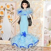 """Одежда для кукол ручной работы. Ярмарка Мастеров - ручная работа Платье """"Бальное"""". Handmade."""