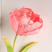 Цветы и флористика ручной работы. Ярмарка Мастеров - ручная работа Махровые тюльпаны. Handmade.