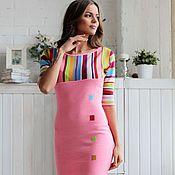 """Платья ручной работы. Ярмарка Мастеров - ручная работа Платье """"Розовый фламинго"""". Handmade."""