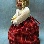 """Куклы и игрушки ручной работы. Ярмарка Мастеров - ручная работа Куклы """"Пуни""""  - грелки для самоваров, чайников. Handmade."""
