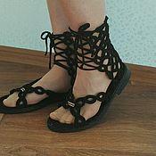 Обувь ручной работы. Ярмарка Мастеров - ручная работа Босоножки. Handmade.
