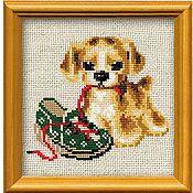 """Схемы для вышивки ручной работы. Ярмарка Мастеров - ручная работа Набор для вышивания Риолис """"Шалун"""". Handmade."""