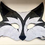 Карнавальный костюм ручной работы. Ярмарка Мастеров - ручная работа Маска волка и зайца. Handmade.