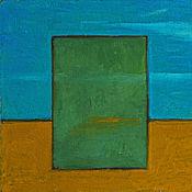 Картины и панно ручной работы. Ярмарка Мастеров - ручная работа Картина маслом Обощенный пейзаж. Handmade.