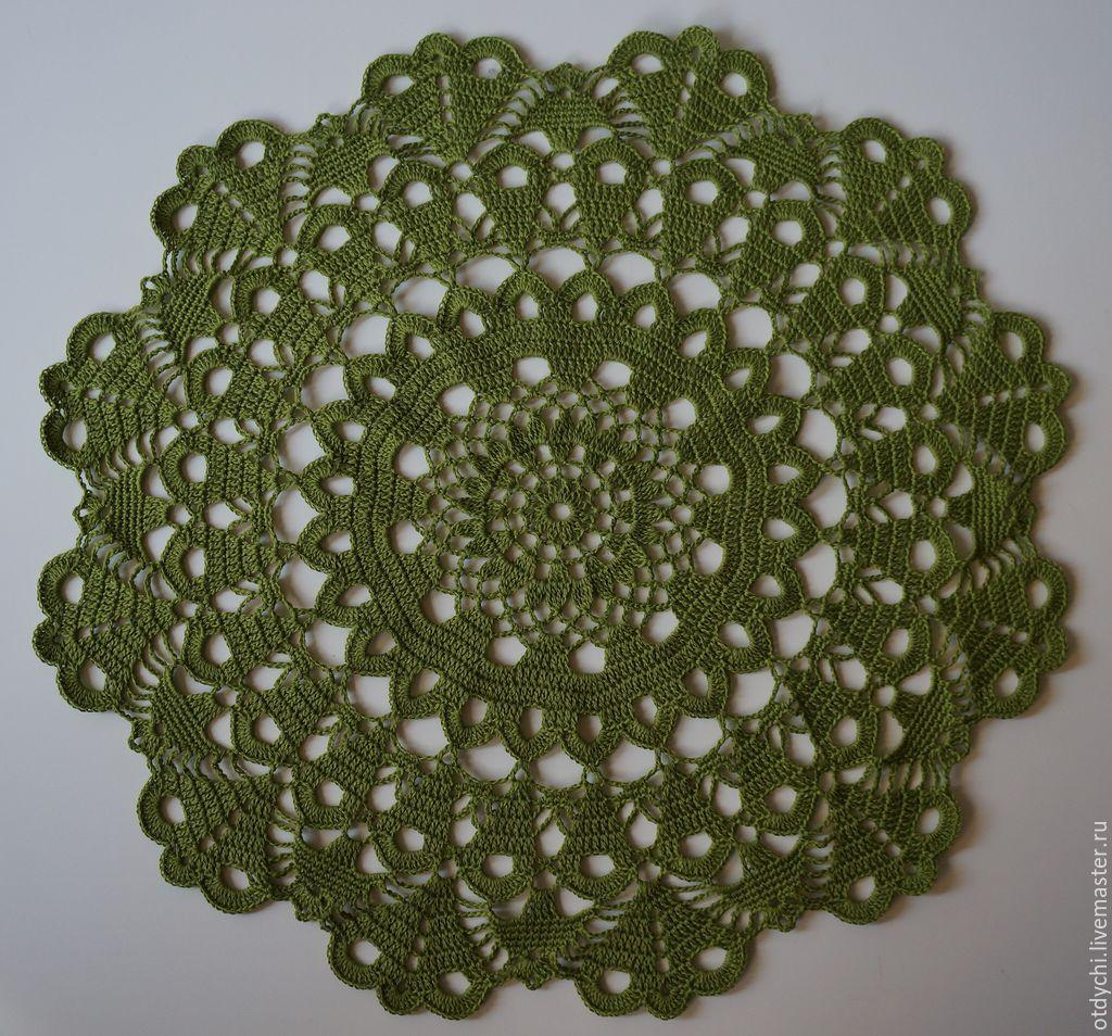 Home Textiles & Carpets handmade. Livemaster - handmade. Buy Napkin decorative fairy TALE.Green, napkin round