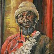 Картины и панно ручной работы. Ярмарка Мастеров - ручная работа Портрет старика. Handmade.