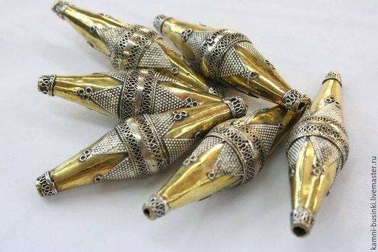 Бусины серебро альпака челнок ручная гравировка Афганистан. Афганские подвески  для колье, туркменские бусины для браслетов, казахская бусина для серег.