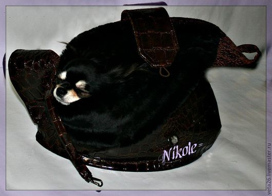 Аксессуары для собак, ручной работы. Ярмарка Мастеров - ручная работа. Купить сумки-переноски лежанки для собак. Handmade. кожзам