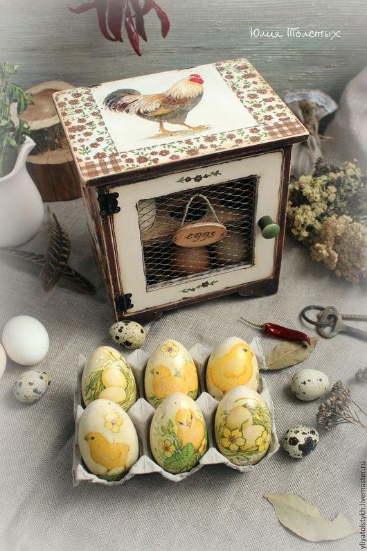 Кухня ручной работы. Ярмарка Мастеров - ручная работа. Купить Шкафчик для яиц. Handmade. Коричневый, для дома и интерьера, интерьер кухни
