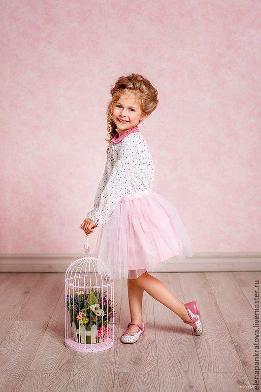 Одежда для девочек, ручной работы. Ярмарка Мастеров - ручная работа. Купить пышная юбка для девочки, разные размеры. Handmade. Розовый