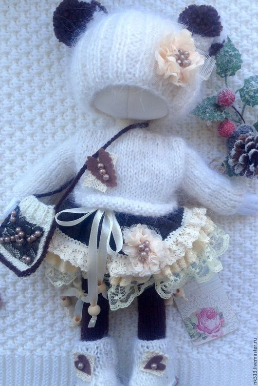 """Одежда для кукол ручной работы. Ярмарка Мастеров - ручная работа. Купить """"Карамель в шоколаде"""". Комплект одежды для куклы. Handmade. Бежевый"""
