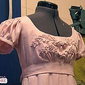 Одежда ручной работы. Ярмарка Мастеров - ручная работа Розовое ампирное платье Ольга. Handmade.
