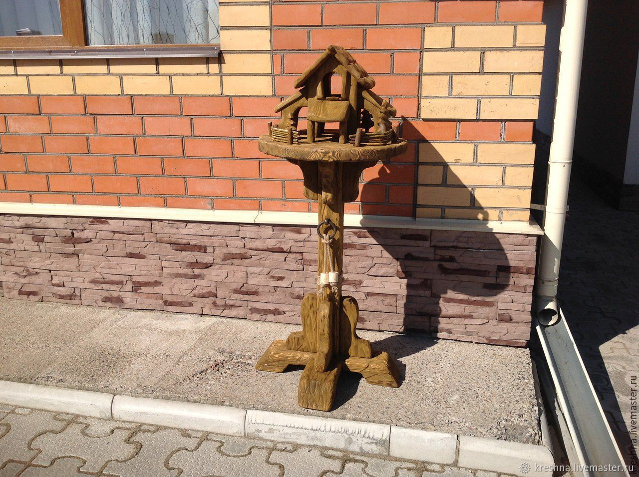 Кормушка для птиц на подставке, Кормушка для птиц, Великий Новгород,  Фото №1