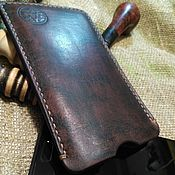 """Чехол ручной работы. Ярмарка Мастеров - ручная работа Чехол """"Винтаж"""" для любого телефона. Handmade."""
