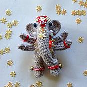 Куклы и игрушки ручной работы. Ярмарка Мастеров - ручная работа слон индийский божок. Handmade.