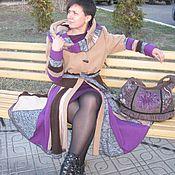 """Пальто ручной работы. Ярмарка Мастеров - ручная работа Лоскутное пальто""""Воспоминание""""осеннее модное. Handmade."""