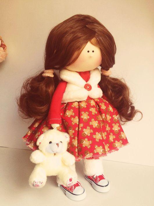 Человечки ручной работы. Ярмарка Мастеров - ручная работа. Купить Кукла новогодняя. Handmade. Кукла ручной работы, куклы и игрушки