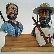"Сувениры и подарки handmade. Livemaster - original item ""Воины"" -  декоративные пробки для бутылок. Handmade."