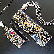 Субкультуры ручной работы. Ярмарка Мастеров - ручная работа Стимпанк флешка,32 Gb,флешка в стиле стимпанк,флешка/ Steampunk. Handmade.
