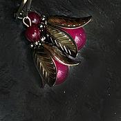 Украшения handmade. Livemaster - original item Earrings bells, agate. Handmade.
