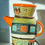Посуда handmade. Livemaster - original item Kettle-jug