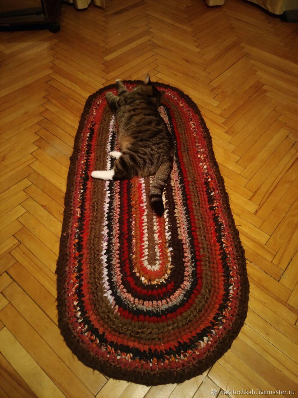 Овальный бабушкин коврик, Ковры, Москва,  Фото №1