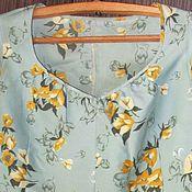 Одежда винтажная ручной работы. Ярмарка Мастеров - ручная работа Винтажная одежда: Вальс цветов - винтажный костюм. Handmade.