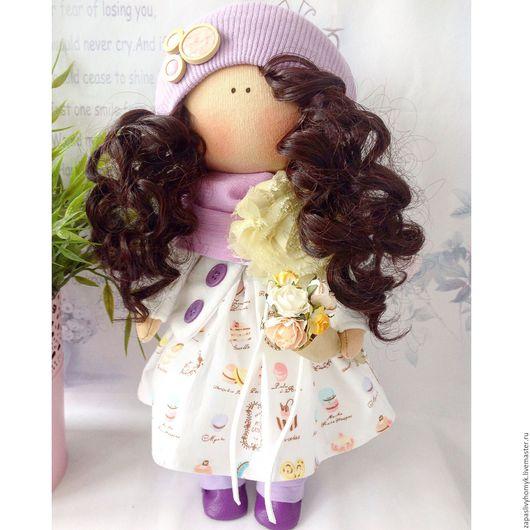 Ярмарка мастеров - ручная работа. Куклы и игрушки ручной работы. Коллекционная кукла купить. Интерьерная текстильная кукла. Handmade