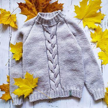 Одежда ручной работы. Ярмарка Мастеров - ручная работа Детский пуловер. Handmade.