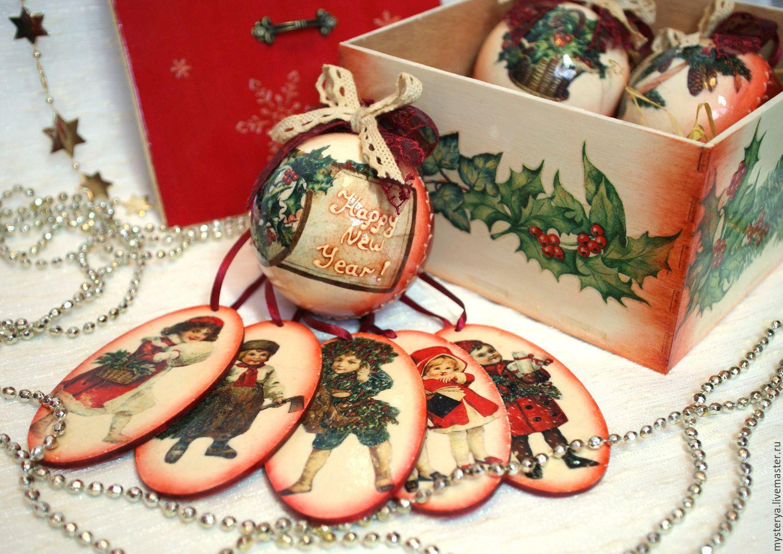Картинки к декупажу новогодние