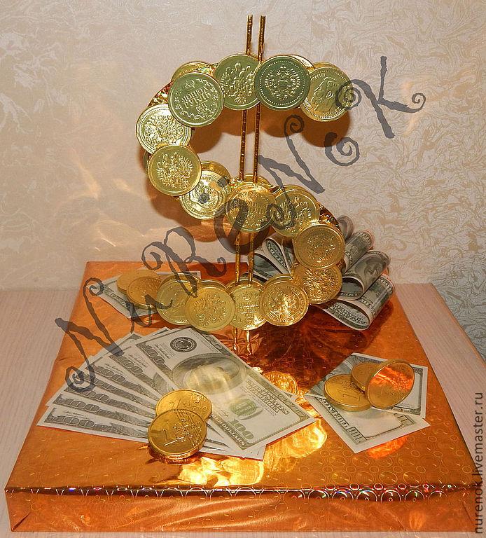 Доллар из конфет своими руками 37