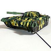 Открытки ручной работы. Ярмарка Мастеров - ручная работа Танк Т-72. Handmade.