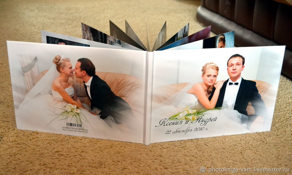 """Свадебная фотокнига """"под ключ"""", Фото, Москва,  Фото №1"""